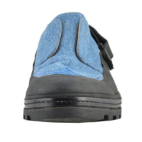Maison Margiela Mm6 Mocassini In Denim Da Donna Slip On Shoes Us 10 It 40