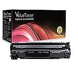 ValueToner Compatible Toner Cartridge Replacement for Canon 125 (3484B001AA) 1 Black Toner Compatible With ImageClass LBP6000, LBP6030w, MF3010 Printer