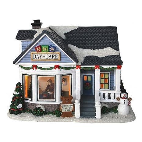 Amazon.com: St. Nicholas Square Village Collection ABC Day-Care ...