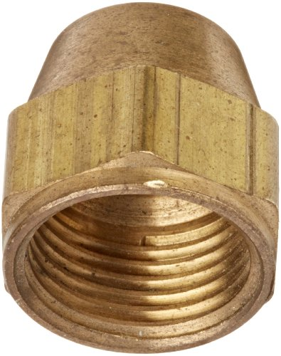 (Eaton Weatherhead 1110X10 Brass CA360 SAE 45 Degree Flare, Nut, 5/8