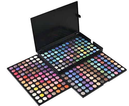 BLUETTEK Professional 252 Colors Eyeshadow Palette