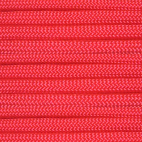 PARACORD PLANET 250 Spool Nylon 550lb Type III 7 Strand Paracord Solid Colors