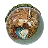 Kurt Adler Holy Family Musical Water Globe, 100mm
