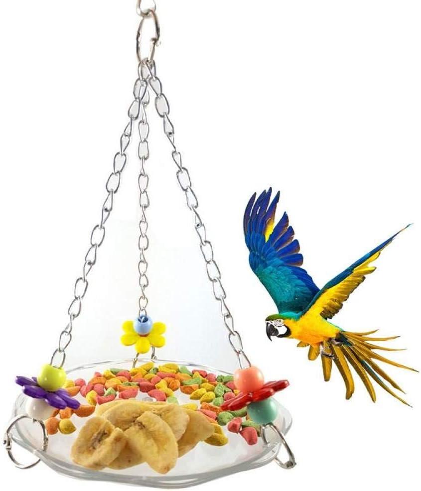 SKYROPNG Comederos para Aves,Dormir Hamaca Colgante Nido Estaciones De Alimentación,Wild Bird Utensilios De Alimentación,Soporte para Jardín Balcón Al Aire Libre Accesorios Suministros De Mascotas