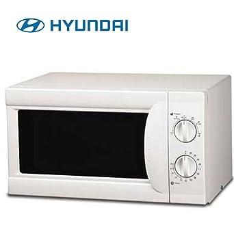Microondas S/Grill 20l Hyundai Hymi20lmb Blanco: Amazon.es ...