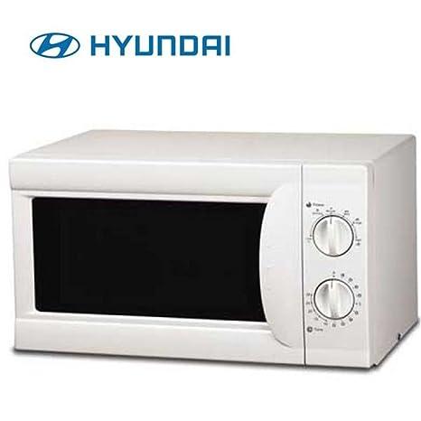 Microondas S/Grill 20l Hyundai Hymi20lmb Blanco