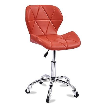Pleasant Amazon Com Dulplay Pu Leather Bar Stools Swivel Stool With Creativecarmelina Interior Chair Design Creativecarmelinacom