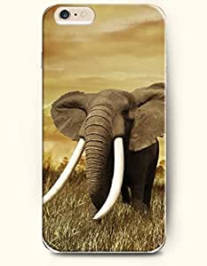 OFFIT iPhone 6 Plus Case 5.5 Inches An Elephant with Big Ear by ruishername