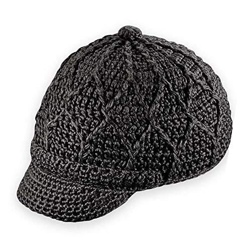- Pistil Women's Jax Knit Brimmed Beanie, Black, One Size