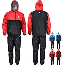 RDX MMA Sauna Sweat Suit Running Non Rip Track Weight Loss Slimmimg Fitness Gym Exercise Training