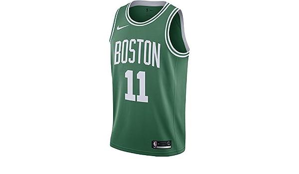 Nike NBA Boston Celtics Kyrie Irving 11 2017 2018 Icon Edition Jersey Oficial Away, Camiseta de Niño: Amazon.es: Ropa y accesorios