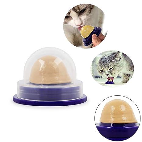 YYCOOL Mascotas Snacks Gato Fijo Nutrición Candy Catnip Toy ...