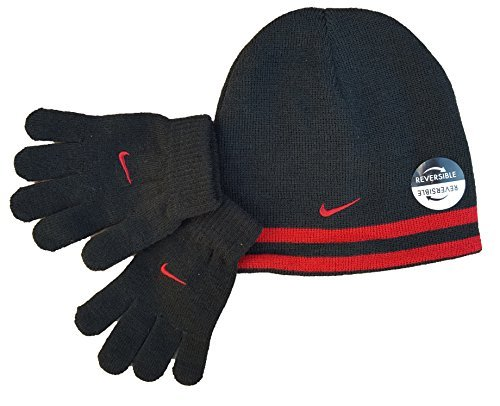 Nike Reversible Beanie and Gloves