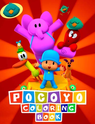 POCOYO Coloring Book: Awesome Activity Book for Kids and Toddlers