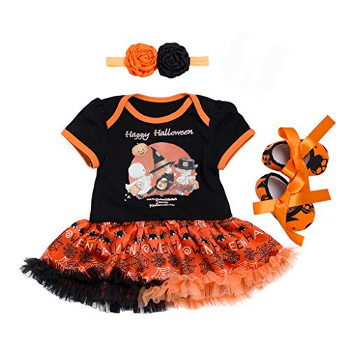 Little Girl Tutu Scarecrow Costumes - Juesi Baby Girl First Halloween Outfit