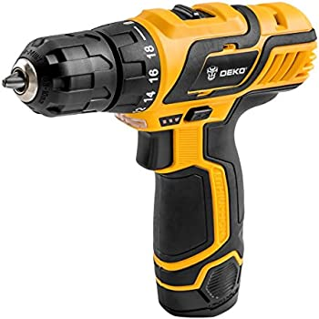 DEKOPRO SATURN Cordless Drill Driver 10.8V 3/8 Inch Lithium-Ion Mobile Power Tools Mini Electric Drill