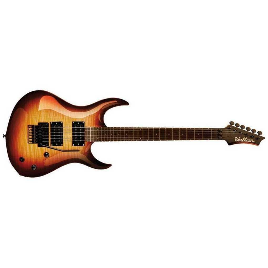Washburn - Xm dlx2 fr fbt guitarra electrica cuerpo macizo: Amazon.es: Instrumentos musicales