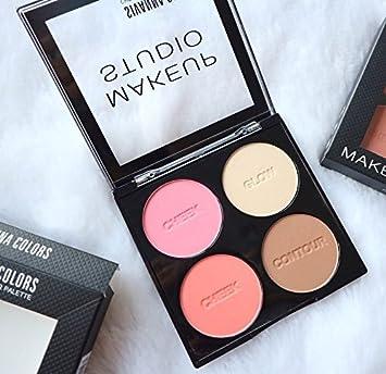 Sivanna Colors Cheek & Contour Palette (01) Make-up Palettes at amazon