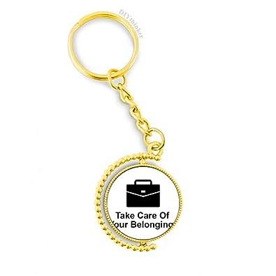 Amazon.com: Cuida tus pertenencias con símbolo negro de ...