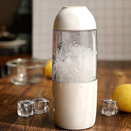 Exprimidor masticación Personal Batidora Exprimidor eléctrico fruta Mezclador Blender con las botellas portátiles for deportes de hielo, batidos, batidos y verduras Juguera