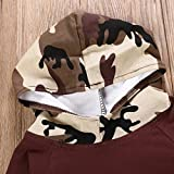 GRNSHTS Infant Baby Boys Camouflage Hoodie Tops