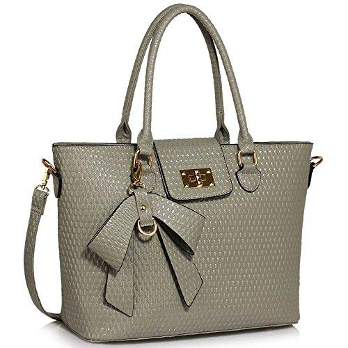 TrendStar - Bolsa Mujer A- Grey