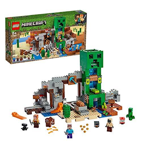 레고(LEGO)  마인 크래프트 거대 구리파 동상의 광산 21155