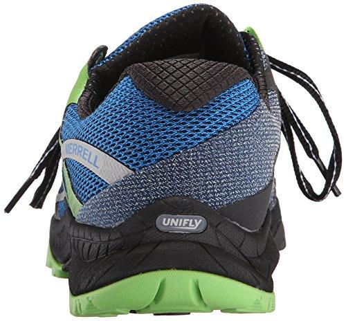 All Dusk Sentier Out De Pour Hommes Chaussures Course Merrell Bleu Charge Sur blue OTwxq