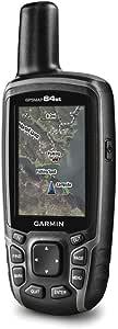Garmin GPSMAP 64st Handheld GLONASS GPS Navigator with with Quad Helix Antenna