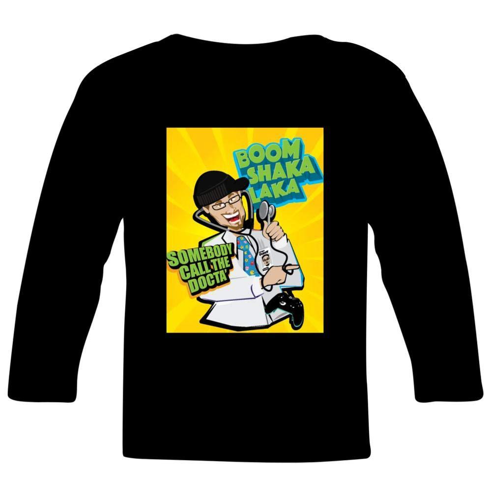 Kids Custom Doctors or DJ T-Shirts Boys Girls Teenager Tee Shirt Children Youth Graphics Tees