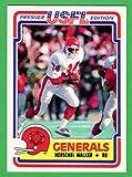 Herschel Walker 1984 Topps USFL Football Rookie Reprint Card (Generals) (Cowboys) (Vikings)