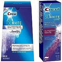 Crest 3D White Whitestrips 3 strips Crest 3D white toothpaste