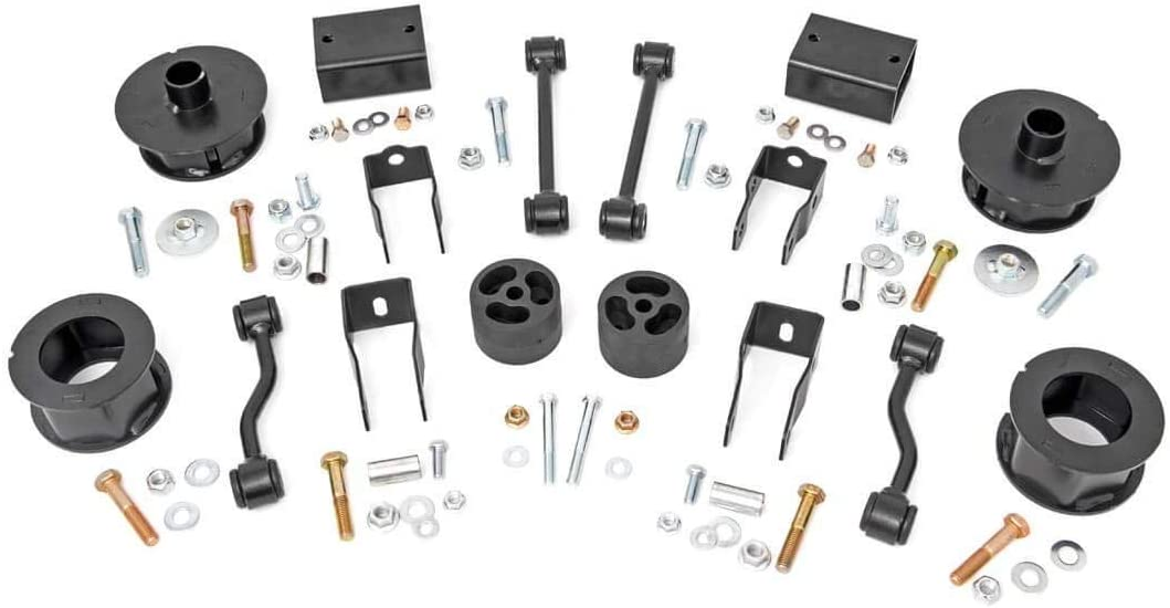 fits 2018-2020 Jeep Wrangler JL 67700 Suspension System Rough Country 2.5 Lift Kit