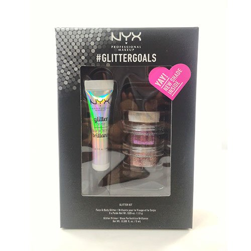 NYX PROFESSIONAL MAKEUP Glitter Goals Kit No. 3