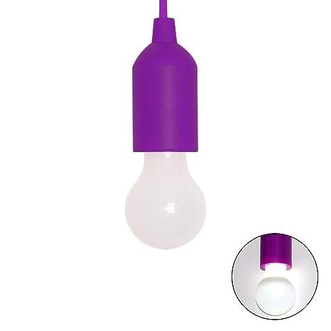 Pawaca Led Light Pull Cord Light Bulbs Portable Led Bulb
