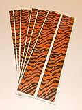 Pathfinder Carbon Arrow Wraps 7'' Orange Tiger Pkg/12