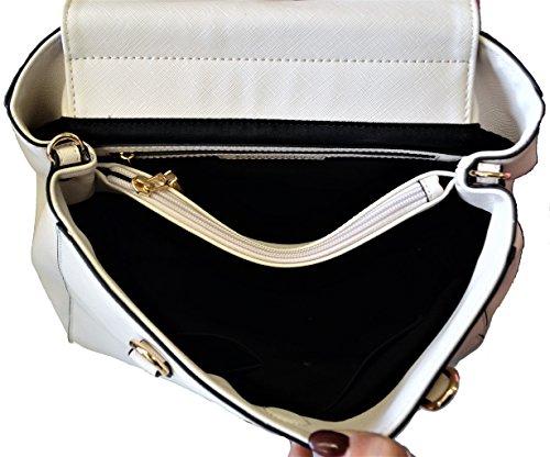 Borsa A Mano Donna Crema Ermanno Scervino Bag Woman Cream New Anya