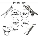 "Elfina Hair Cutting Shears, 6.0"" Professional"