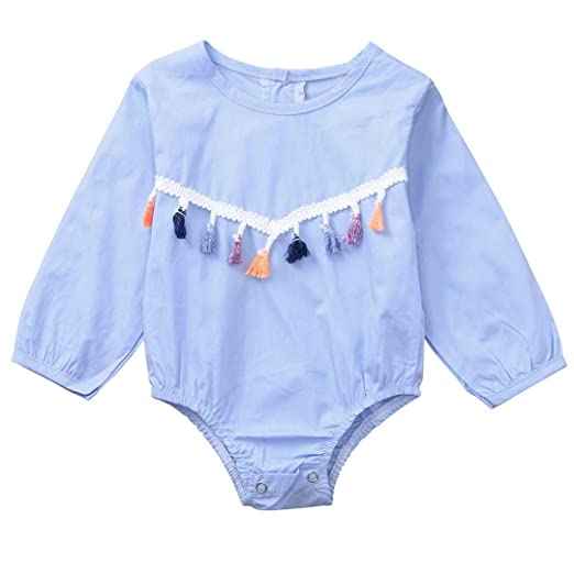 cf3f3af506c Amazon.com  Toddler Baby Girls Clothes Sets 0-24 Months