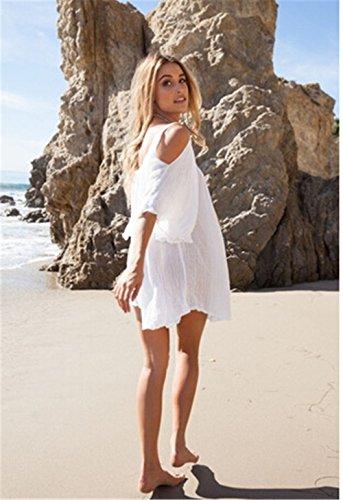 JOTHIN - Robe - Sans bretelle - Femme Blanc blanc L / XL