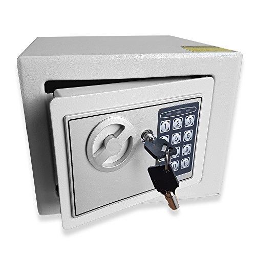 Futura Electronic Safe, Cash Box, Home Safe, Lock Box, Digital Safe, Steel...