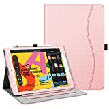 Fintie Case for New iPad 7th Generation 10.2 Inch 2019 - [Corner Protection] Multi-Angle Viewing Folio Smart Stand Back Cover with Pocket - Pencil Holder - Auto Wake Sleep for iPad 10.2