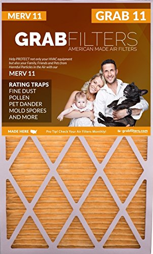 20x20x1 MERV 11 (2 pack) High-Quality Air Filters for Your Home and Business HVAC Systems