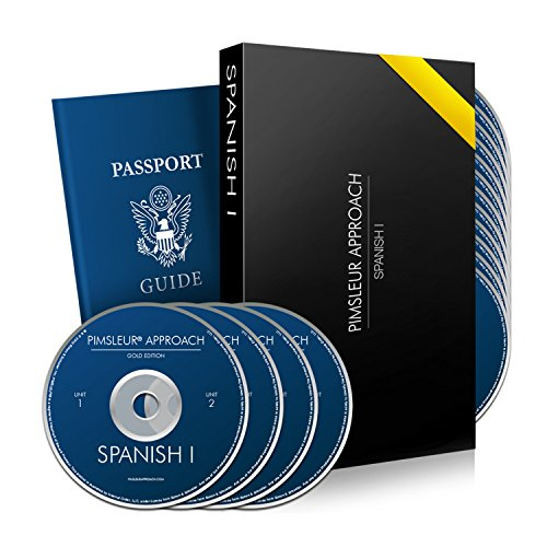 Pimsleur Approach Spanish Level 1: 30 Lessons - 16 Audio Cds - Learn Spanish for Travel, Work, or Family Using This Spanish Language Learning Course. Gold Edition I By Dr Paul Pimsleur - Method w/ Superb Review By PBS & Forbes ()
