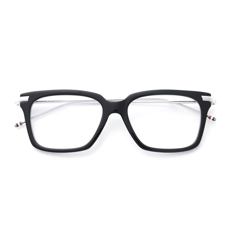 (トムブラウン) THOM BROWNE. 眼鏡/メガネ/ウェリントン [並行輸入品] B079DDP4Q3   53
