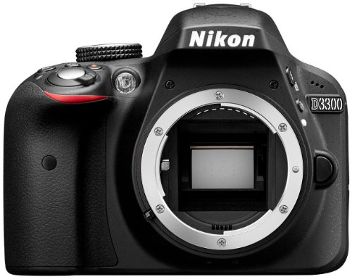 Nikon D3300 Digital SLR Camera Body Only – Black (24.2MP) 3.0 inch LCD Review