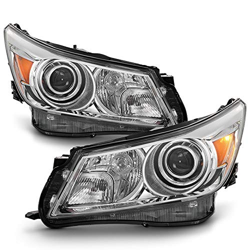 ACANII - For 2010 2011 2013 Buick LaCrosse HID Model Headlights Headlamps Replacement Driver & Passenger Side