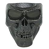 Vhccirt Motorcycle Helmet Mask Spooky Decor Skull Paintball Airsoft Grim Halloween