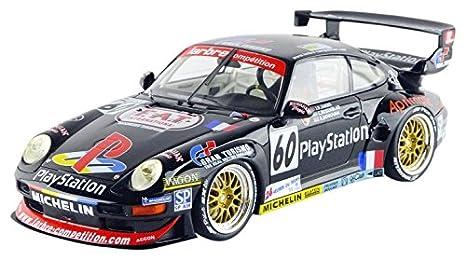 Gt Spirit GT103 - Porsche 911/993 GT2 - Le Mans 1998 - 1/18 - Negro: Amazon.es: Juguetes y juegos