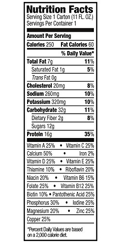 Orgain Organic Nutrition Shake, Strawberries & Cream, Non-GMO, Kosher, Gluten Free, 11 Ounce, 12 Count, Packaging May Vary by Orgain (Image #3)